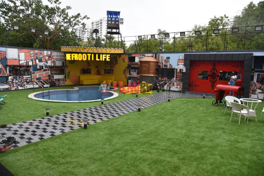 bigg boss Malyalam season 2 house entire area