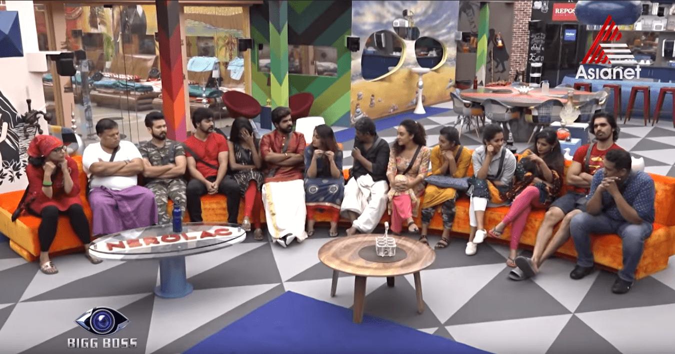 bigg boss contestant season 1 malayalam