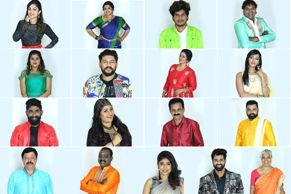 bigg boss contestants 2020