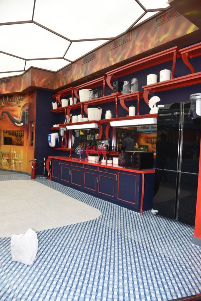 bigg boss malayalam season 2 house kitchen area
