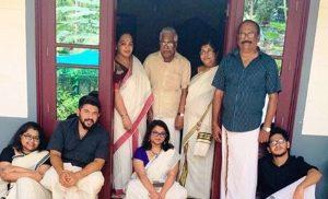 raghu family in kozhikode